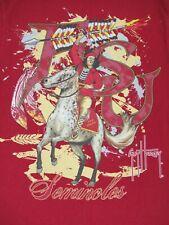 Guy Harvey - Fsu Seminols -Pequeño- Rojo Camiseta A1771