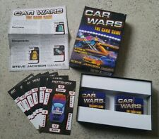 Car Wars: The Card Game - board Steve Jackson Games 2-6 Players 2015 COMPLETE