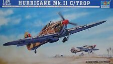 TRUMPETER® 02416 Hurricane Mk.IIC / TROP in 1:24