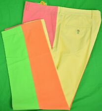 Lilly Pulitzer 4 Panel Pinwale Cord Trousers Sz: 40W