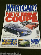 WHAT CAR? - BMW COUPE - JULY 1999