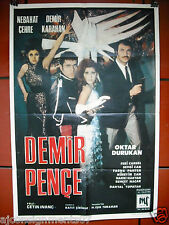 DEMIR PENCE Iron Claw the Pirate Demir Karahan Turkish Superhero Film Poster 69