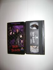 WWE BADD BLOOD  Rare  WWF  VHS 1997  HELL in a CELL Undertaker/Shawn Michaels