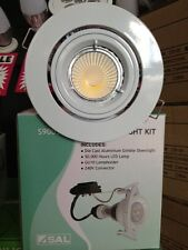 9W High Output 240V LED Downlight Kit with Warm White or Daylight Lamp