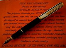 INOXCROM SIROCCO STERLING  SILVER SPANISH FOUNTAIN PEN