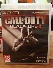 SONY PS3 GAME CALL OF DUTY BLACK OPS II 2 NICE CONDITION PLAYSTATION 3 & MANUAL