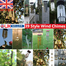 Metal Tubes Wind Chimes Windbells Outdoor Yard Garden Feng Shui Ornament Large