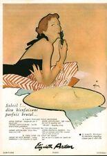 Publicité ancienne produit de beauté Elisabeth Arden 1950 issue de magazine