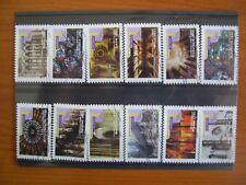 Série complète art gothique  2011 (YT 552 à 563), 12 timbres