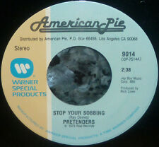 *<* 4 FOR 1 PRETENDERS MINT 45s SALE: STOP SOBBING/SHOW ME/DON'T GET ME WRONG +1
