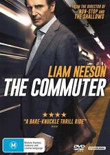 The Commuter (DVD, 2018) BRAND NEW & SEALED DVD  Region 4 (Australian)