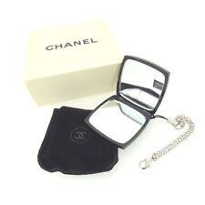 Chanel mirror Black White Woman Authentic Used Y4065
