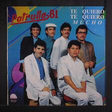 PATRULLA 81: Te Quiero Te Quiero Mucho LP Sealed Latin