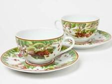 Hermes Porcelain Pythagore Tea Cup Saucer Tableware 2 set Interior Ornament New