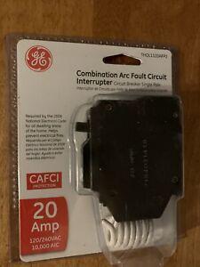GE AFCI 20 Amp Breaker