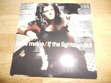 """KATIE MELUA """"IF THE LIGHTS GO OUT """" 1 TRACK UK PROMOTIONAL CD 2008 CARD SLEEVE**"""