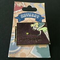 DLR - Mickey's Pin Odyssey 2008 - Autograph Book Tinker Bell Disney Pin 62674