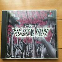 Paranoia Scape PlayStation PS1 MultiSoft Used Japan Shooter Boxed Tested 1998