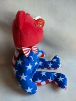 Retired Rare Beanie Baby Liberty with Tag ERRORS