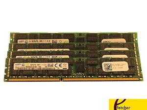 64GB (4 x16GB) Dell PowerEdge R320 R420 R520 R610 R620 R710 R820 Memory