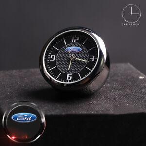 For Ford Refit Car Quartz Clock Auto Watch Interior Luminous Decoration Digital