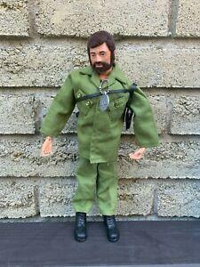 1964 G.I Joe Talking Adventure Team Commander Flocked Hair Complete Set