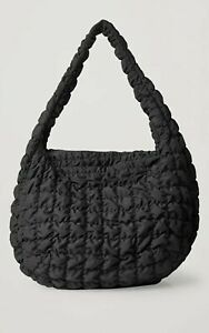 Cos Recycled Polyester Quilted Oversized Bag