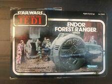 Star wars endor forest ranger Mini Rig Wave 5 Unused rotj box vintage