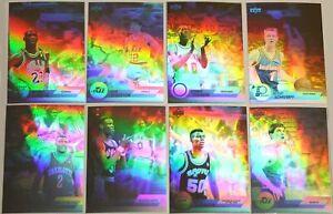 Michael Jordan Spanish 1992-93 Upper Deck Hologram 8 Card Basketball insert
