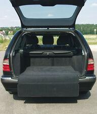 Für Audi Q3 o. Varioschiene Kofferraumteppich ausklappbar Velours schwarz Deluxe