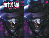 Batman Who Laughs 5 Francesco Mattina Trade + Minimal Set Of 2 Variant Joker