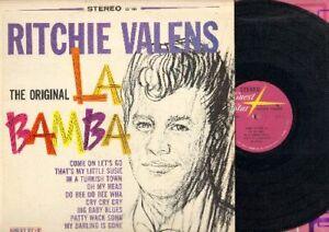 Valens, Ritchie - The Original La Bamba Vinyl LP Record Free Shipping