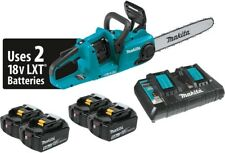 Makita 14 in. 18V X2 (36-Volt) Lxt Lithium-Ion Brushless Cordless Chain Saw Kit