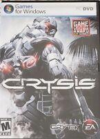 Crysis PC Game For Windows DVD Rated Mature 17+ Game Critics Award Winner 2007