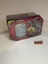 Pokemon Pokebox Tin Box Carchacrok Giratina GX neuf français  scellé