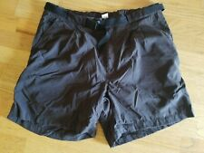 Men's The North Face Baggy Nylon Shorts ~ Outdoors ~ Hiking ~ Black  ~ XL