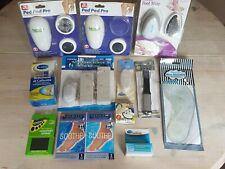 Job lot footcare ped pod pro,pumice stones,insoles,toe crests,corn/callus liquid