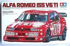 """TAMIYA 1/24 Alfa Romeo 155 V6 TI works color scale model kit #24137 """"aged stock"""""""