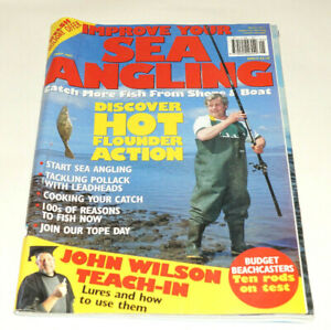 Improve Your Sea Angling May 1997 / RARE Fishing Magazine / Hot Flounder Action