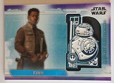 #83 /99 Topps Star Wars BB-8 Medallion Finn MC-BF Rise Of Skywalker Series 1