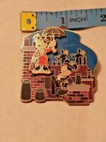 Disney Pin Minnie Mickey ~ Mary Poppins Great Movie Moments Slide ~ Ships FREE