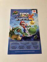 """Super Mario Galaxy 2,Nintendo, Codigo Club Nintendo Nuevo.   """"OJO NO ES JUEGO"""""""