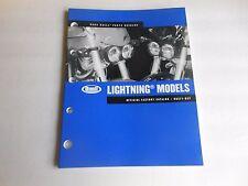 Buell Parts Catalog Lightning Models 2005 Official Factory Catalog # 99571-05Y