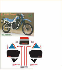 kit adesivi stickers compatibili  elefant 350 1986 dakar