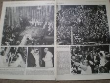 Article Wedding Rome Prince Carlos Bourbon-Parma Irene of Netherlands 1964 rf AY