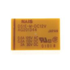NAiS DS1E-M-DC12V Monostabiles Relais Printrelais 12 VDC 2A / 250V 5 Pin