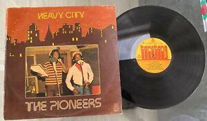 "The Pioneers ""Heavy City"" 1979 Nigeria Press Reggae LP Taretone"