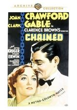 Chained 1934 (DVD) Joan Crawford, Clark Gable, Otto Kruger, Stuart Erwin - New!