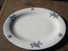 Royal Doulton Everday Blueberry 1204 Platter - 13""