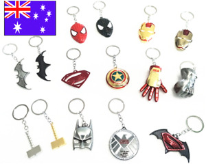 Superhero The Marvel Key Chain the Avenger Ironman face mask Keychain Keyring